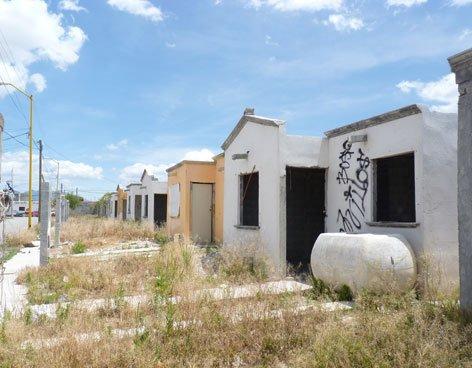 Casas abandonadas Infonavit