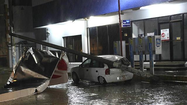 Huracán Bárbara en Chiapas