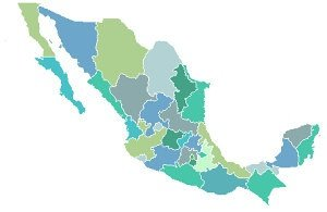 Los mapas INEGI