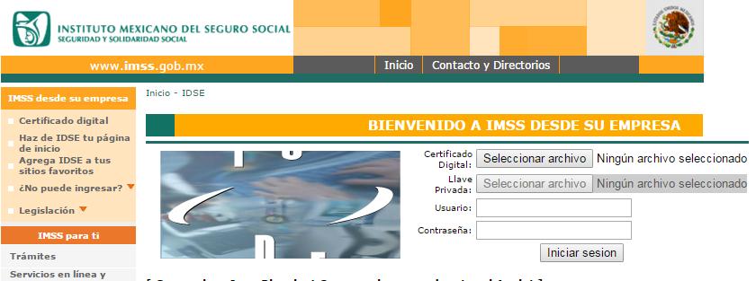 Portal web IDSE